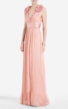 2012 BCBG MAX AZRIA Torey V-Neck Evening Gown [21] - $198.00 : Herve Leger Dresses Outlet,65% Off Herve Leger On Sale