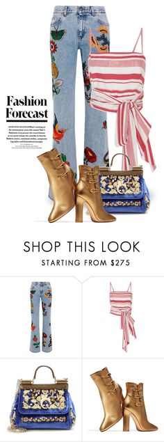 """""""Nov 5th (tfp) 2486"""" by boxthoughts ❤ liked on Polyvore featuring Gucci, MDS Stripes, Dolce&Gabbana, Gianvito Rossi and tfp"""