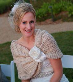 Wedding accessories, bridal accessories, bridal shawl, wedding shawl, Wedding gown, Summer wedding, Handmade flower, Women accessories, Knit by denizy03 on Etsy https://www.etsy.com/listing/110978983/wedding-accessories-bridal-accessories