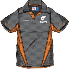 For Dad; Greater Western Sydney Giants Shop - GWS GIANTS 2013 Men's Premium Polo