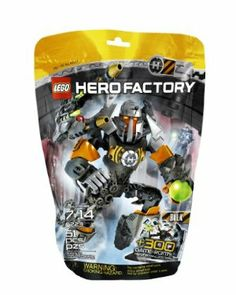 LEGO Hero Factory 6223 Bulk by LEGO Hero Factory. $11.99. Highly flexible and poseable elements. Combine with 6222 Core Hunter for an even bigger model. Decorated chest piece. Includes unique code worth 300 game points for LEGO Hero Factory Breakout game online at our LEGO official website. Features hero cuffs, plasma ball shooter, missile launcher, high-impact shoulder armor and laser targeting. From the Manufacturer                Calling Bulk. The villains are ...
