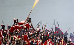 Battle of Waterloo relived: the sound a fury of a Napoleonic war re-enactment - Telegraph
