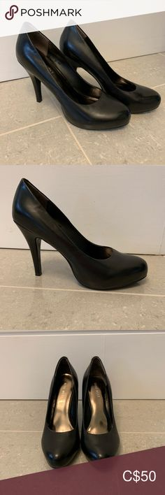Nine West heels Mint condition size 5.5 Nine West pumps with small platform. Never worn outside. Smoke free home. Nine West Shoes Heels