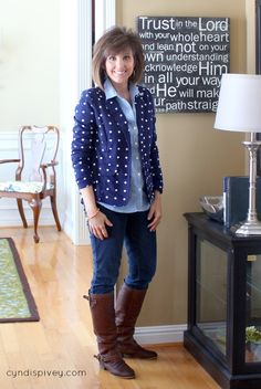 Fashion For Women Over 40-What I Wore - Walking in Grace and Beauty