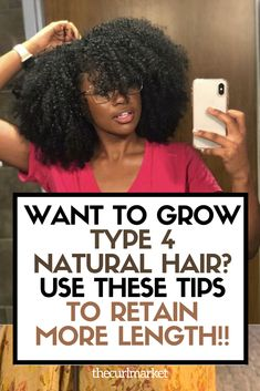 How To Reduce Breakage in Type 4 Natural Hair
