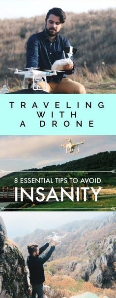 Traveling with a Drone: 8 ESSENTIAL Tips to Avoid Insanity! Make backpacking and travelling with a DJI Phantom so much easier!