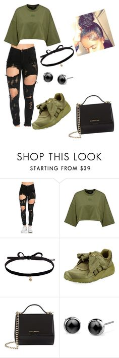 """""""Army Strong pt.2"""" by keyonnadockery15 ❤ liked on Polyvore featuring Joomi Lim, Puma and Givenchy"""