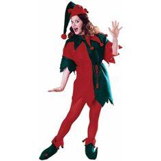 Adult Women's Christmas Elf Costume