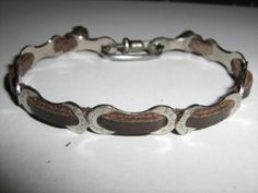 Bike Chain Bracelet Recycled Biker Fixie Cycling Road | eBay