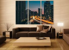Ontario Cityscape Canvas Print 3 Panels Print Wall Decor Wall Art Canada Cityscape Photography Print for Home and Office Wall Decoration by ZellartCo TAGS canada wall art city photography canvas print urban city canvas photo wall decor home decor room decor photo print cityscape canvas wall poster ontario