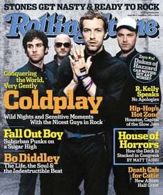 Rolling Stone Cover of Coldplay (August 2005)