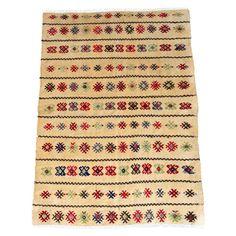 Hand Woven Anatolian Rug 3 x 4.2