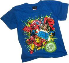Team Green -- Marvel Team Ups (Brillan En La Oscuridad) Niño Camiseta, Niño S #camiseta #friki #moda #regalo