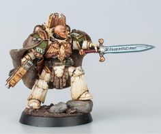 Battle Bunnies: Pre-Knight Errant Nathaniel Garro (Pre-Heresy Death Guard) conversion and paint guide