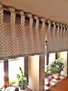 Něžně letně / Zboží prodejce czindesign   Fler.cz Drapery, Valance Curtains, Curtain Hangers, House Entrance, Window Treatments, Blinds, Upholstery, Windows, Living Room