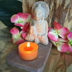 Buddha Tealight Holder for illumination and guidance #buddha #SageGoddess #candle #tealight #meditation #sacredspace