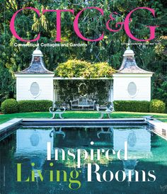 CTC&G May 2015 cover featuring an Old Lyme Property. #CTC&G