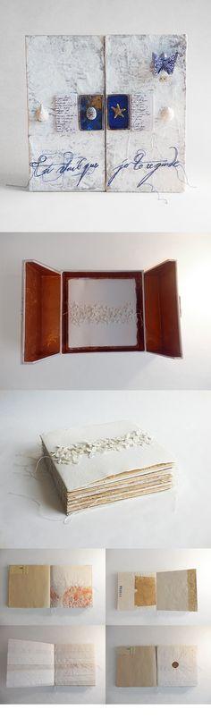 Imra van Buuren, book in a box