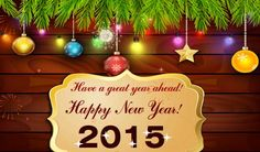 Happy New Year 2015 Greetings !