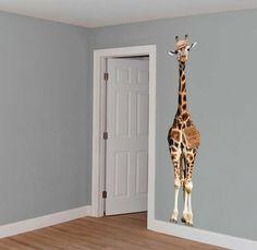 Giraf op safari | Muurstickers | VAN IKKE