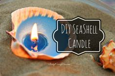 How to Make DIY Seashell Candles | More Cool Projects For Teens