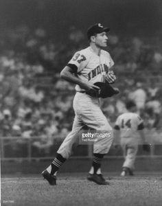 Baseball player Jim Piersall of the Cleveland Indians. Baseball Players, Baseball Cards, Indians Baseball, Cleveland Indians