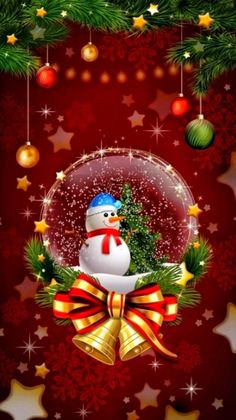 Christmas Time Is Here, Christmas Past, Merry Christmas And Happy New Year, Merry Xmas, Christmas Snow Globes, Christmas Scenes, Christmas Bulbs, Christmas Decorations, Merry Christmas Wallpaper
