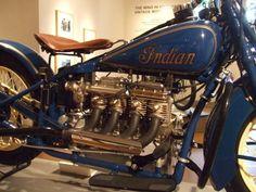 Indian Vintage Motorcycle