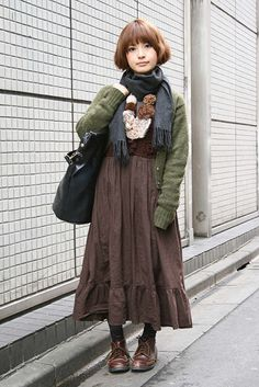 12 Cute Mori Girl Outfits and Style tips for Mori Girl Look