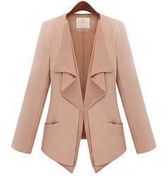 Women's Tailored Blazer (Slim Fit) - USD $ 43.79