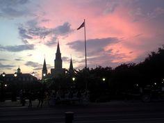 Jackson Square mit St.-Louis-Kathedrale