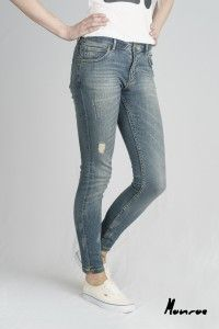 Women's Beat Denim Organic Monroe Jeans WAS £65 NOW £40 Available Now at Monkeegenes.com