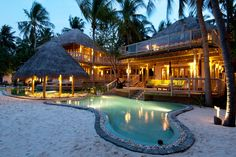 Paradise for a honeymoon - Soneva Fushi Resort in the Maldives