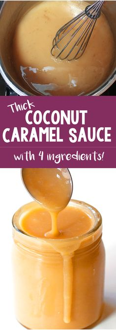 How To Turn A Can Of Coconut Milk Into Caramel! And it's vegan!