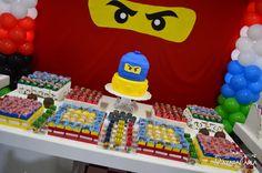 Festa Ninja para comemorar os 9 anos do GABRIEL!!!                                            Gostou? Compartilhe!