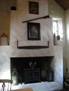 Irish Cottage Interior D W E L L Pinterest Stove Rustic Modern And Fireplaces
