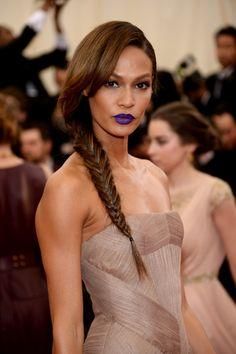 """Model Joan Smalls attends the """"Charles James: Beyond Fashion"""" Costume Institute Gala at the Metropolitan Museum of Art on May 5, 2014 in New York City."""