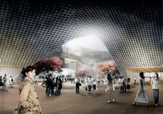 DQZ CULTURAL CENTER BY HAO / HOLM ARCHITECTURE OFFICE