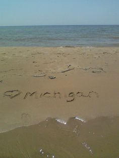 Lake Michigan Beach in Michigan