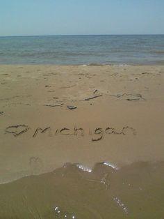 Lake Michigan ....<3 Lake Michigan