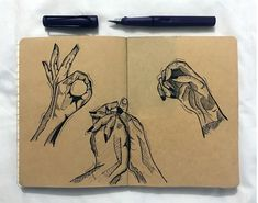 #sketch #sketchbook #sketching #drawings #handmade #hands #expressionist #lamy Hand Sketch, Drawing S, Sketching, Hands, Illustration, Artist, Handmade, Instagram, Illustrations