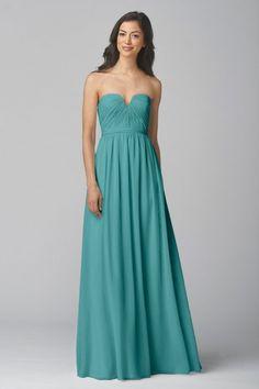 Wtoo Maids Dress 907 in Mermaid