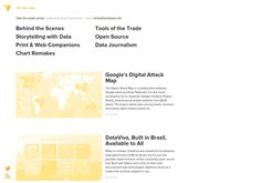 A curated collection of great examples of #dataviz in #journalism http://thewhyaxis.info ✭✭✭