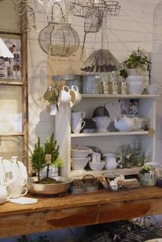 country cottage by Daizy Walters shabby chic romantic rustic kitchen French Country Kitchens, French Country Cottage, French Country Style, Cottage Style, Country Casual, Kitchen Country, Rustic Kitchen, French Decor, French Country Decorating