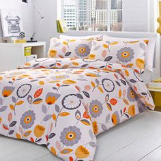 Ideal Bedding | Duvet Covers| Bedsheets | Pillowcase Pieridae Sunny Sensations Duvet Quilt Bedding Cover and Pillowcase Bedding Set