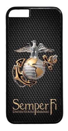 Usmc Marines Marine Army Military Case Rubber/Hard Cover For Iphone 6/6S 6S Plus