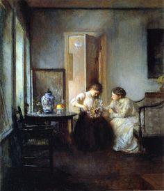 Edmund Blair Leighton - A Study 1895 - Pictify - your social art network