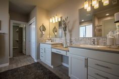 The Vintage by Hayden Homes - Master Bathroom - the Vintage offers 3 bedrooms and 2.5 bathrooms with 2,610 sq. feet.