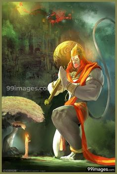 Hanuman, the mighty incarnation of Lord Shiva, and the greatest devotee of Lord Rama. He is the ultimate embodiment of devotion and selfless service. Shiva Art, Shiva Shakti, Krishna Art, Rudra Shiva, Shiva Hindu, Lord Hanuman Wallpapers, Hanuman Images, Hanuman Photos, Hanuman Chalisa