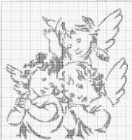 Thrilling Designing Your Own Cross Stitch Embroidery Patterns Ideas. Exhilarating Designing Your Own Cross Stitch Embroidery Patterns Ideas. Cross Stitch Angels, Cross Stitch Art, Cross Stitch Designs, Cross Stitch Embroidery, Crochet Angel Pattern, Crochet Angels, Canvas Patterns, Embroidery Patterns, Cross Stitch Patterns